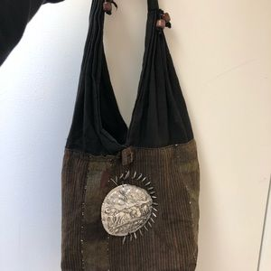 Handbags - Elephant hippy dippy bag